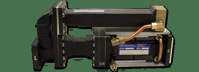 C-Band Distributed 3-Port Isolator Assembly, 3 MW Peak Power, 1 KW Average Power
