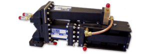 S-Band Distributed 3-Port Isolator Assembly, 8 MW Peak Power, 8 KW Average Power